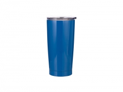 20oz Stainless Steel Tumbler (Blue)