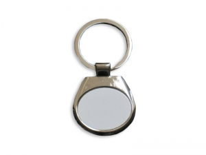 Horizontal Oval Key Ring
