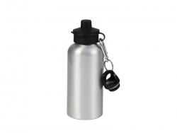 600ml Aluminium Water Bottle with Two Tops