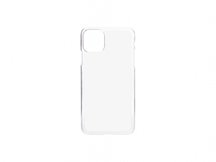 iPhone 11 Pro Max Cover (Plastic, Clear)