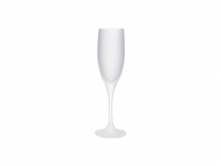 6oz/190ml Champagne Flute Glass (Frosted)