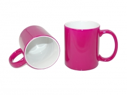 11oz Changing Color Mugs(purple red)