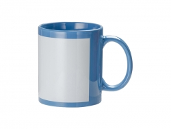 Sublimation 11oz Full Colour Mug w/o White Patch(Light Blue)