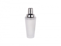 400ml Glass Cocktail Shaker (Frosted)