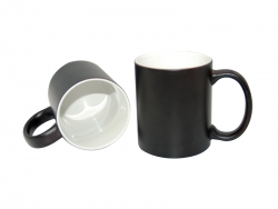 11oz Changing Color Mugs(black)
