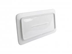 "Flat Rectangle Ceramic Plate(12"")"