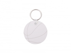 Basketball Pattern HB Keyring (φ5.5cm)