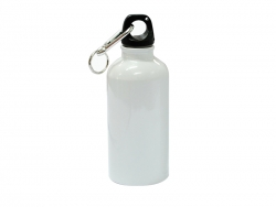 400ml Aluminium Water Bottle (White)