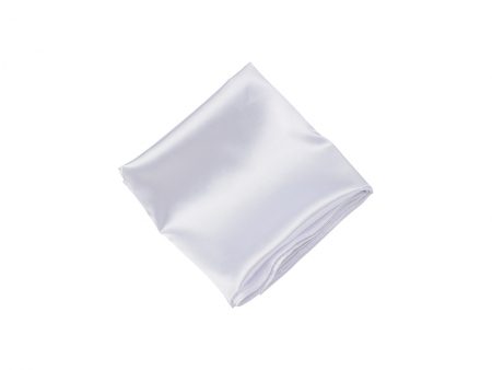 White Imitation Silk Fabric Roll Material