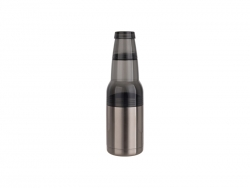 17oz/500ml Stainless Steel Beer Keeper w/ Bottle Opener(Silver)