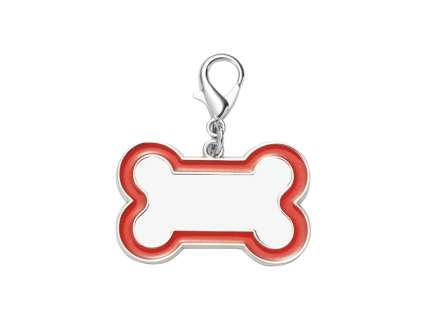 Sublimation Dog Tag (Red Edge, 3*4.5cm)