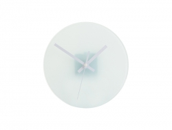 Sublimation Glass Clock-01
