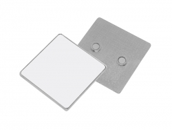 Square Metal Fridge Magnet (5.5*5.8cm)