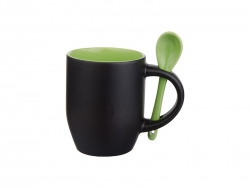 11oz Changing Color Spoon Mug(Light Green)
