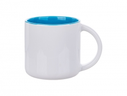 Sublimation 14oz Two-Tone Color Mug (Light Blue)