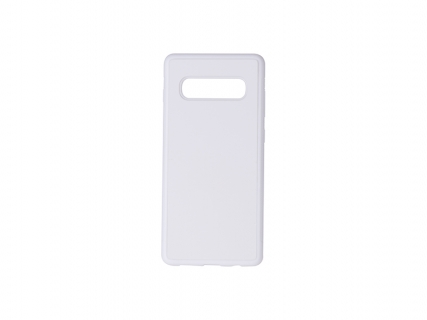 Samsung S10 Plus Cover (Rubber, White)
