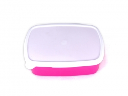 Sublimation Plastic Lunch Box (purple)