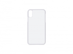 iPhone XS Max Cover (Plastic, White)