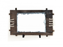 Big Rectangular Stone with Frame(28*30cm)