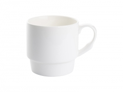 10oz Stackable Bone China Coffee Mug