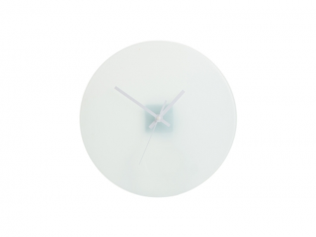Sublimation Glass Clock-02