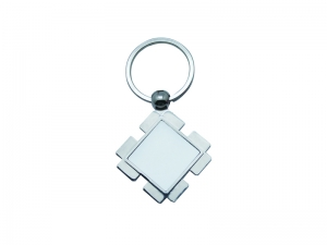 Diamond Shaped Key Ring