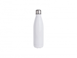 25oz/750ml Stainless Steel Cola Bottle (White)