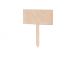 Plywood Garden Stake (Square, 20*25cm)