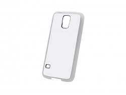 Samsung Galaxy S5 Cover(Rubber,Clear)
