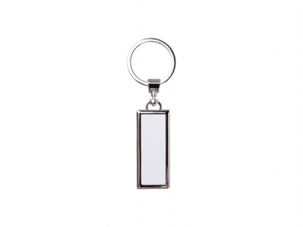 Sublimation Metal Key Chain with Double Sides Alu Inserts (2.2*5.2cm) MOQ:1200pcs