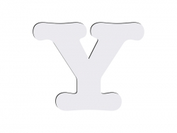 Sublimation HB Letters -Y (10*10cm)