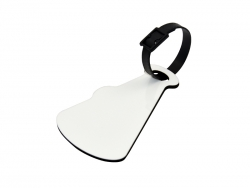 Trumpet Shape Sublimation Luggage Tag