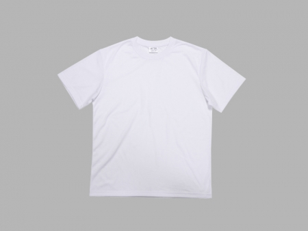 White Polyester T-shirt Roll Material(Cotton Feeling)