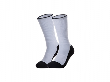 Sublimation Silver Silk Glitter Tube Sock (22*23cm)