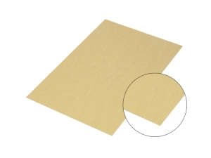 Gold Aluminum Brush Board