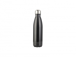 17oz/500ml Stainless Steel Cola Bottle (Black)