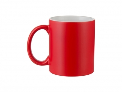 Sublimation 11oz Color Changing Mugs (Semi-Glossy, Red)