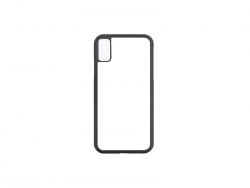 iPhone X Cover (Rubber, Black)