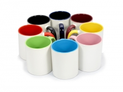 11oz Inner Rim Color Mug