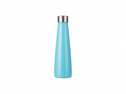 14oz/420ml Stainless Steel Pyramid Shaped Bottle (Blue)