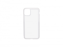 iPhone 11 Pro Max Cover (Rubber, Clear)