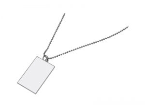 Rectangular Dog Tag