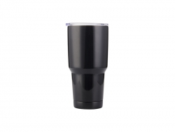 30oz Stainless Steel Tumbler(Black)