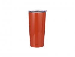 20oz Stainless Steel Tumbler (Orange)