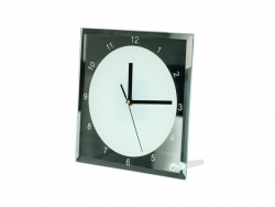 20cm Glass Clock