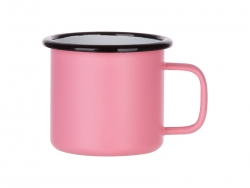 12oz/360ml Enamel Mug (Matt Pink)