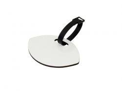 Oval Shape Hardboard Luggage Tag