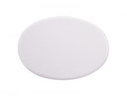 6 in. x 4.3 in. Oval Tile