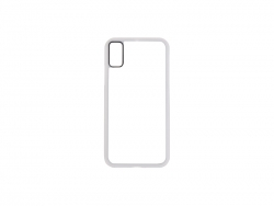 iPhone X Cover (Rubber, White)