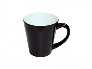 12oz Color Change Cone Mug(Black)